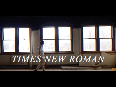 Sean McVerry - Times New Roman [Lyric Video]