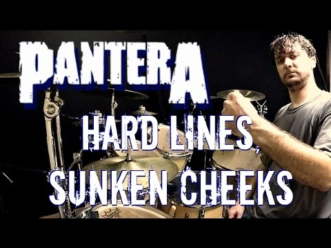 PANTERA - Hard Lines, Sunken Cheeks - Drum Cover