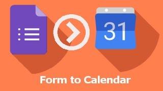 كيفية إنشاء حدث تقويم من جوجل تشكيل