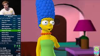 Simpsons: Hit & Run All Tasks NLR Speedrun 2:16:46