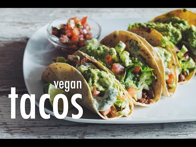 Easy Vegan Tacos | hot for food