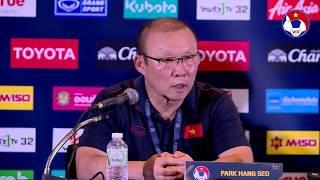 HLV Park tỏ ra đầy khiêm nhường sau khi giúp ĐTVN giành chiến thắng trước ĐT Thái Lan | VFF Channel