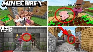 Minecraft - 10 Cosas que NO Sabías del Aldeano - Rabahrex