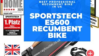 Sportstech ES600 Professional Recumbent Bike For Home Use in UK