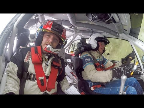 Rally EMK- Kannan 2018 SS2 Stig Andervang With A Few Moments And Two Rolls At The Same Stage