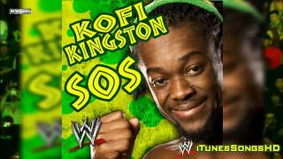 "WWE: Kofi Kingston 1st Theme Song ""SOS"" (Full Version) [High Quality + Download Link] ᴴᴰ"