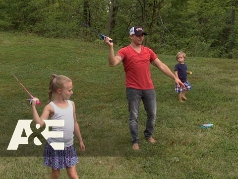 Lachey's Bar: Drew Practices Fly Fishing (Season 1, Episode 2) | A&E