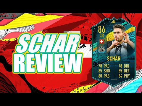 FIFA 20 - PLAYER MOMENTS SBC FABIAN SCHAR (86) PLAYER REVIEW