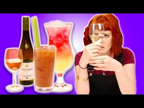 Irish People Taste Test Non-Alcoholic Alcohol (Beer, Cider, Cocktails, Wine)