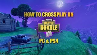 COMMENT LIER FORTNITE PC - COMPTE PS4 2018 'TUTORIEL LE PLUS FACILE'