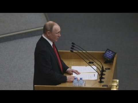 Putin convoca para el 22 de abril el plebiscito sobre su permanencia en Kremlin