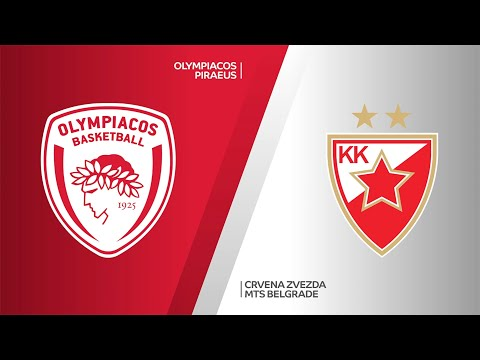 Olympiacos Piraeus - Crvena Zvezda mts Belgrade Highlights   EuroLeague, RS Round 28
