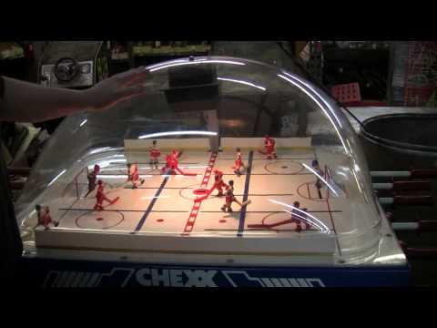 #484 CHEXX Bubble Hockey- USA VS Russia - Made By ICE  TNT Amusements