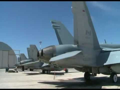 Canadian cf-18 Fighter Jets In Libya , Mission Footage