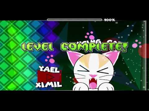EL Mejor Nivel - Dancing Cat - Geometry Dash 2.01 - BY: YaelXimil - [GD]XxCarlosxX