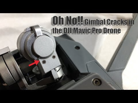 Mavic Pro Gimbal Plate Crack!! - Will the dealer help?