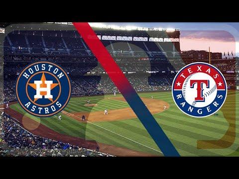Houston Astros Vs Texas Rangers MLB Live Stream Play By Play & Reaction