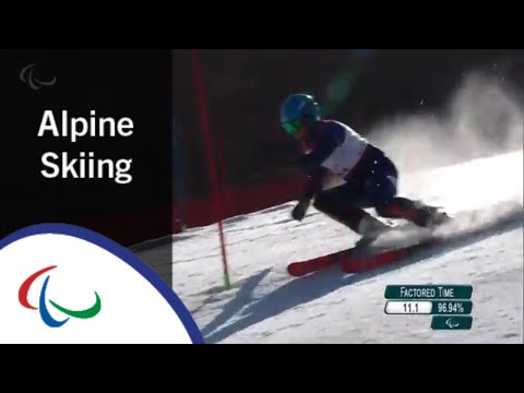 Men's Slalom Run 1 |Alpine Skiing | PyeongChang2018 Paralympic Winter Games
