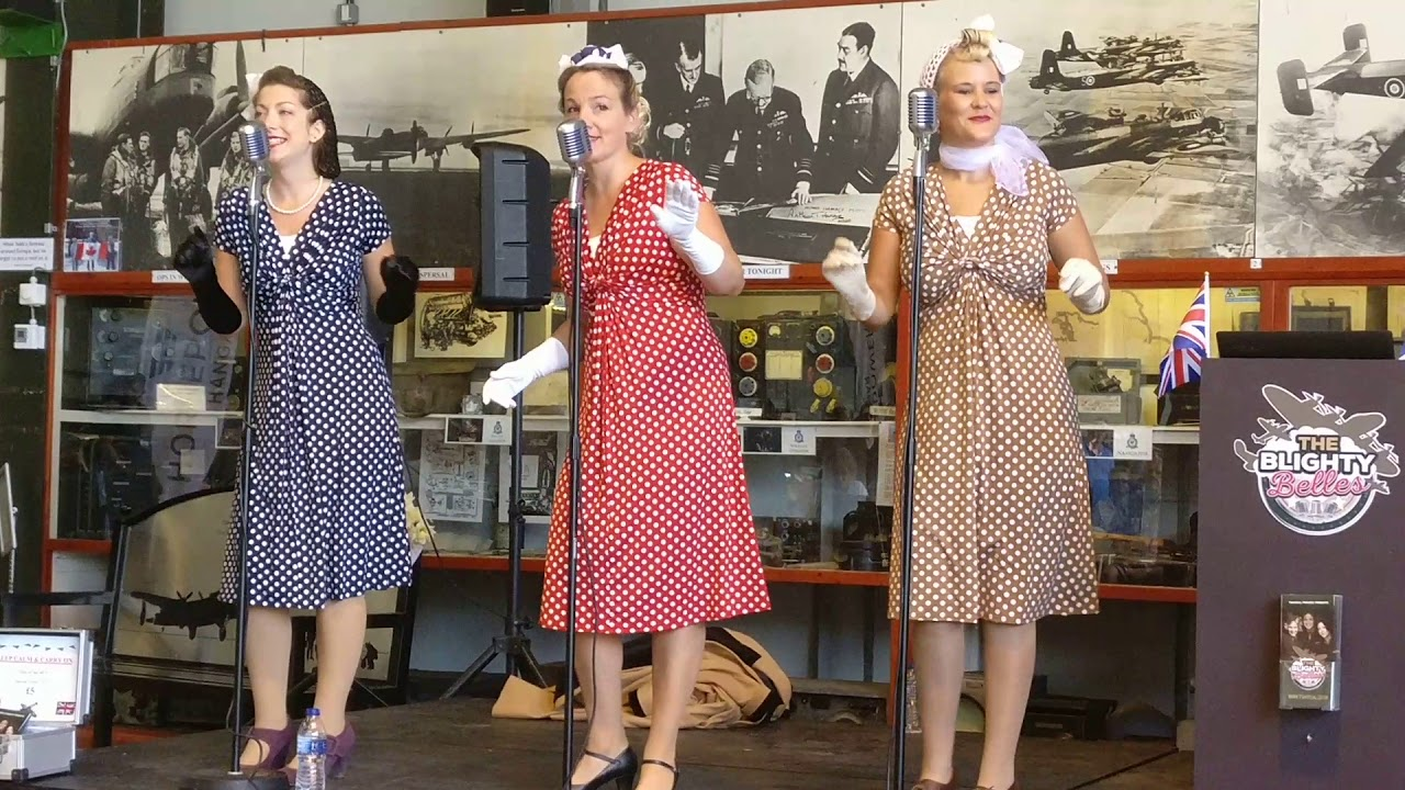 The Blighty Belles At RAF East Kirkby 28 8 17