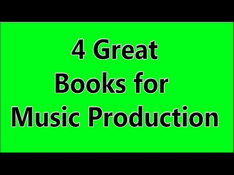 4 Books to Improve Music Production