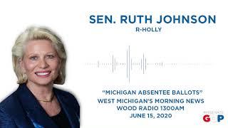 Sen. Johnson discusses absentee ballots on WOOD Radio