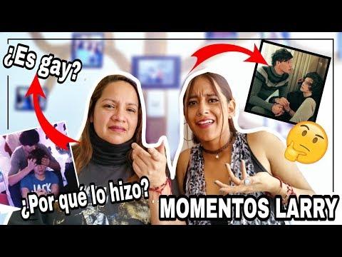 Mi MAMÁ REACCIONA a FREDDIEISMYQUEEN (Momentos LARRY🔥😱) | MELI SBEIB