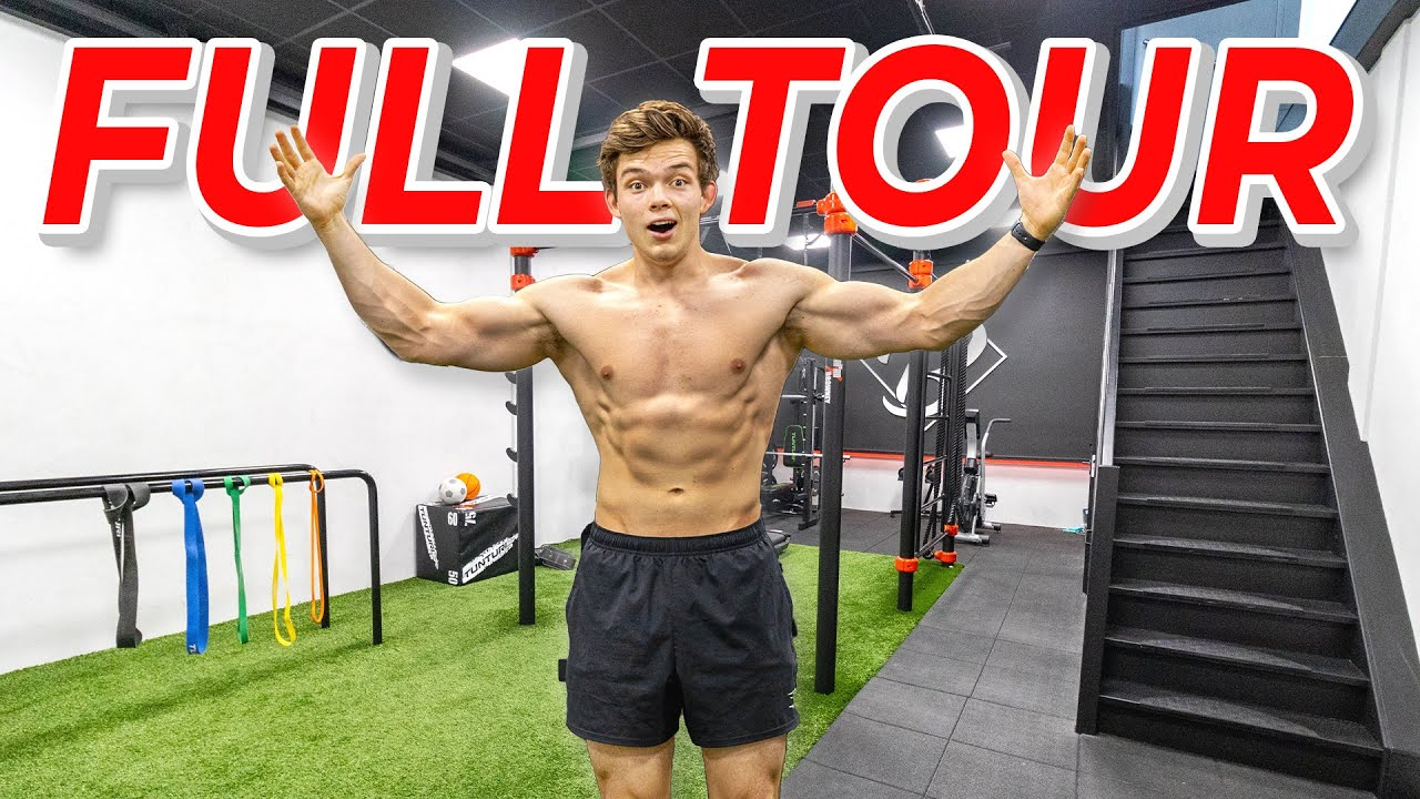 I Built My Dream Gym & YouTube Studio (FULL TOUR) | Empty Building Transformation