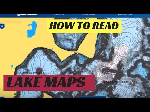 How To Read Lake Maps