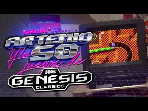 Artemio y los 50 JUEGOS del SEGA GENESIS Classics thumbnail