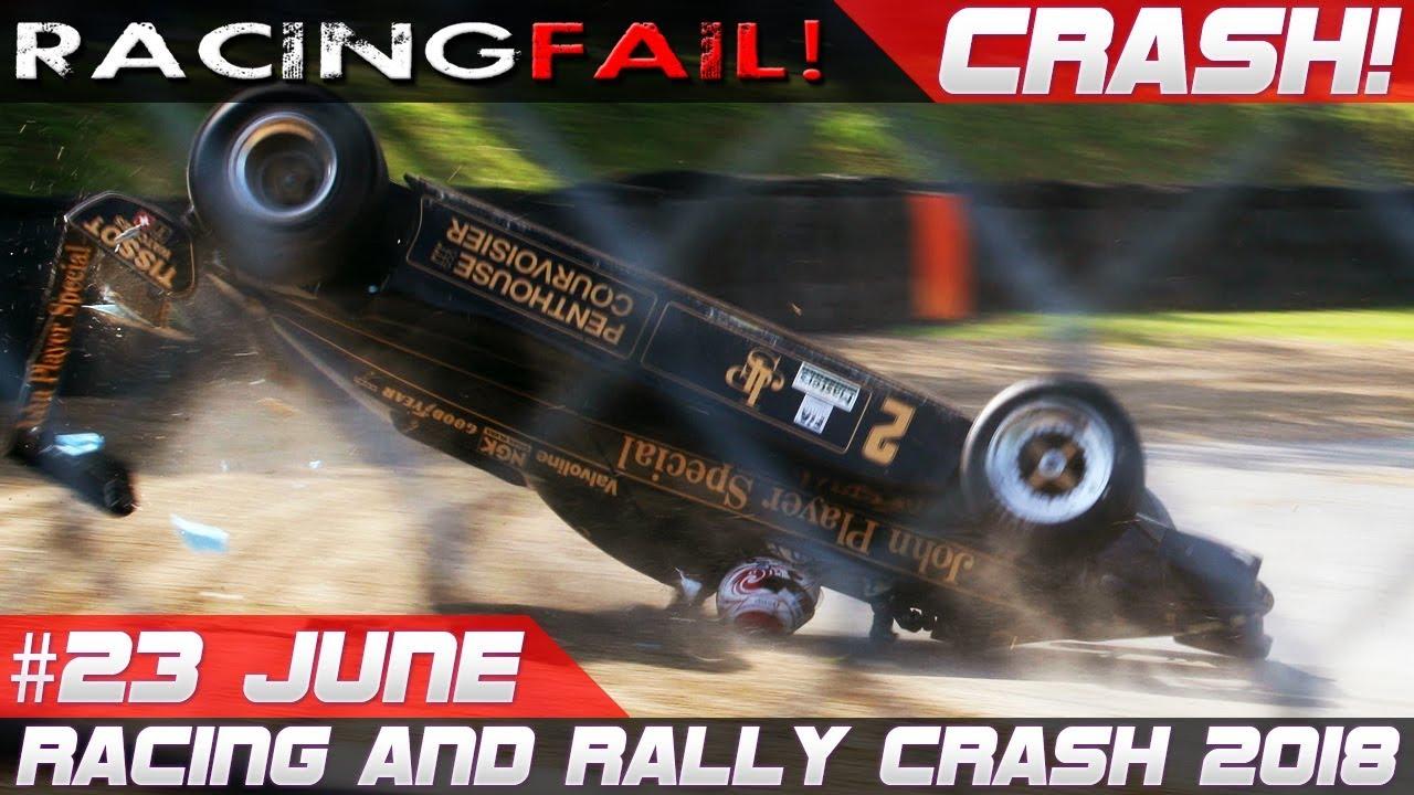 Racing And Rally Crash Compilation Week 23 June Rally Sardegna 2018