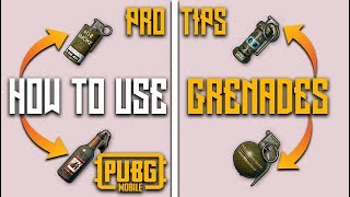 HOW TO USE GRENADES IN PUBG MOBILE PRO TIPS AND TRICKS
