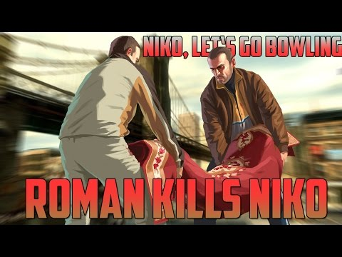 GTA IV: Roman kills Niko