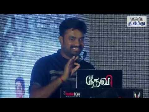 We Love Prabhudeva Here, But Bollywood Celebrates Him: Director AL Vijay in Devi Press Meet