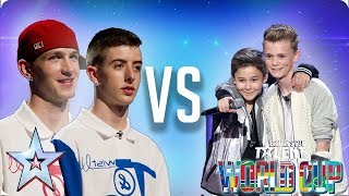 KNOCKOUT MATCH: Twist & Pulse vs Bars & Melody | Britain's Got Talent World Cup 2018