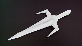Меч оригами, origami Sword (Nakano Kay)(Designer: Nakano Kay Искусство оригами http://origamiart.ru/ Как сделать меч оригами, origami Sword Бумага - обычная офисная, формат..., 2014-08-20T15:37:35.000Z)
