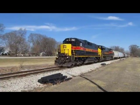 Iowa Interstate SIPE at Mossville, IL - Mar. 4, 2016