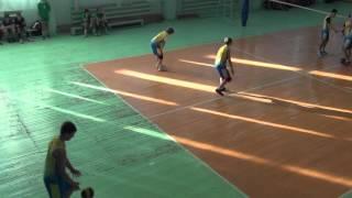 Городские соревнования, волейбол Школа №17, Иркутск. Третья игра 04.02.16 1-я партия