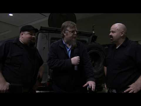 Robby & Sandy Campbell founders/members of Mudmen interviewed by Reginald Show