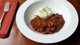 Picadillo - How to Make a Beef Picadillo Recipe