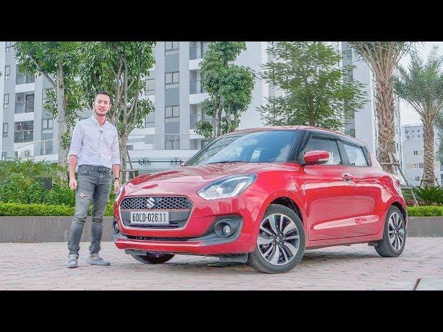 Đánh giá ưu nhược điểm xe Suzuki Swift 2018 giá từ 499 triệu |XEHAY.VN|