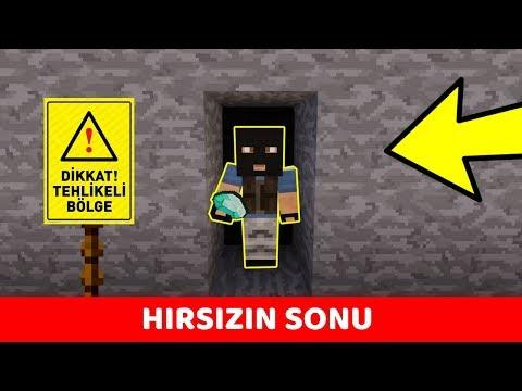HIRSIZ VS POLİS #114 - Hırsız'ın Sonu (Minecraft)