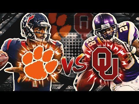Clemson Alumni vs. Oklahoma Alumni | Madden NFL College Alumni Tournament
