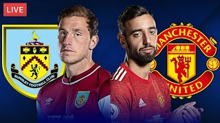 BURNLEY vs MANCHESTER UNITED - LIVE STREAMING - Premier League - Football Match