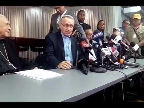 """Mons. José A. Divassón, CEV: """"Ante falta de soluciones, gente busca la protesta pacífica como arma"""""""
