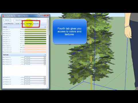 3D Tree Maker | SketchUp Extension Warehouse