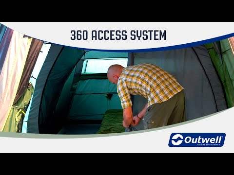 Outwell 360° access system (New feature 2020)  | Innovative Family Camping