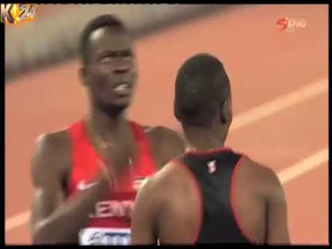 In memory of the fallen hero and former 400mH champion Nicholas Bett
