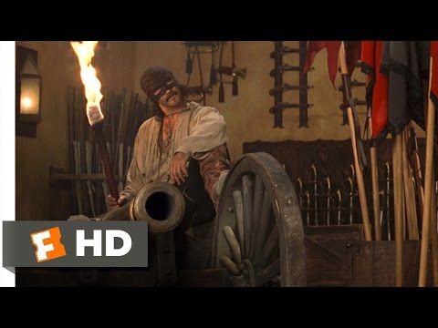 The Mask of Zorro (2/8) Movie CLIP - The Legend Has Returned (1998) HD