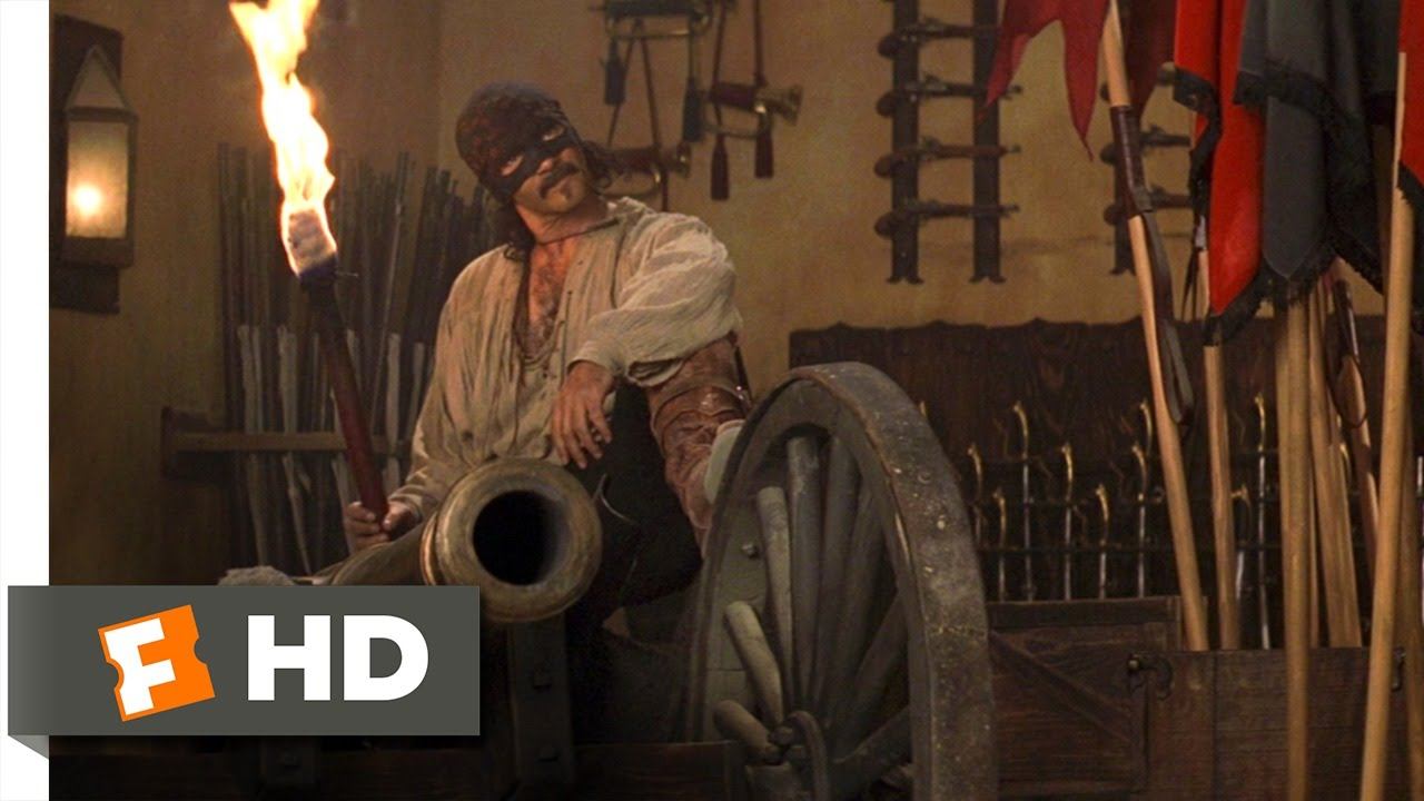 Download The Mask of Zorro (2/8) Movie CLIP - The Legend Has Returned (1998) HD