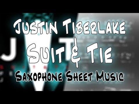 Justin Timberlake - Suit & Tie (Saxophone Sheet Music)
